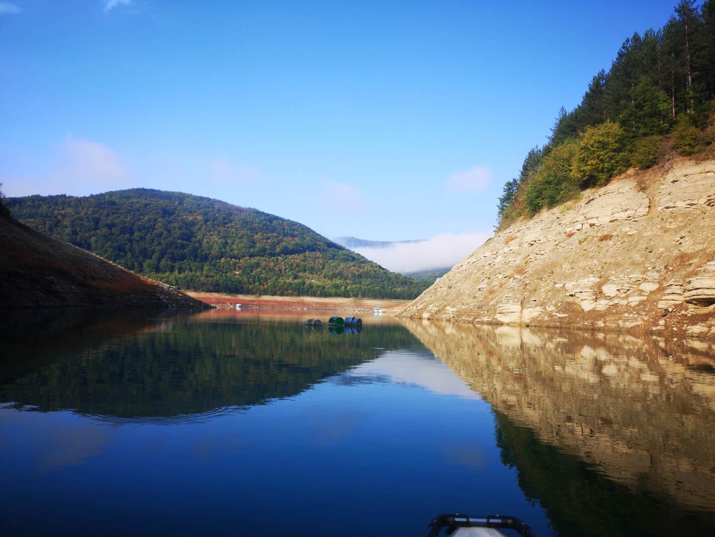 Каякарска епопея – Сърбия 2019 – част първа Завойско езеро